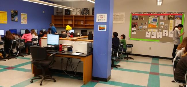 Azita's classroom.